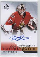 Future Watch Autographs - Matt O'Connor #/999