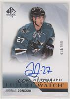 Future Watch Autographs - Joonas Donskoi #/999
