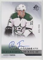 Future Watch Autographs - Radek Faksa #/999