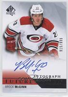 Future Watch Autographs - Brock McGinn #/999