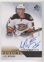 Future Watch Autographs - Nick Ritchie #/999