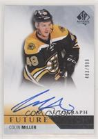 Future Watch Autographs - Colin Miller #/999
