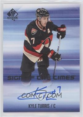 2015-16 SP Authentic - Sign of the Times #SOTT-KT - Kyle Turris