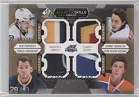 Filip Forsberg, Johnny Gaudreau, Zemgus Girgensons, Ryan Nugent-Hopkins #/15