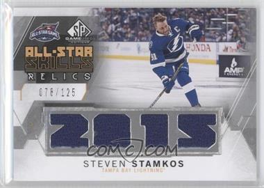 2015-16 SP Game-Used - 2015 All-Star Skills Relics #AS-SS - Steven Stamkos /125