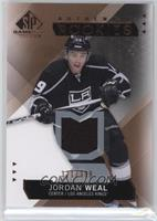 Authentic Rookies - Jordan Weal #/399