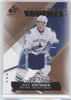 Authentic Rookies - Jake Virtanen #/399