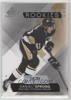 Authentic Rookies - Daniel Sprong #/41