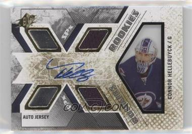 2015-16 SPx - [Base] #144 - Rookie Auto Jersey - Connor Hellebuyck /499