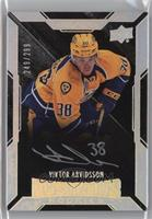 Lustrous Rookies Signatures - Viktor Arvidsson #/299