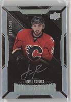 Lustrous Rookies Signatures - Emile Poirier #/299