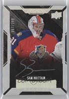 Lustrous Rookies Signatures - Sam Brittain #/299