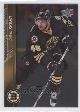 2015-16 Upper Deck - [Base] - Silver Foil Board #15 - David Krejci