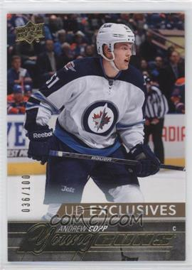 2015-16 Upper Deck - [Base] - UD Exclusives #205 - Young Guns - Andrew Copp /100