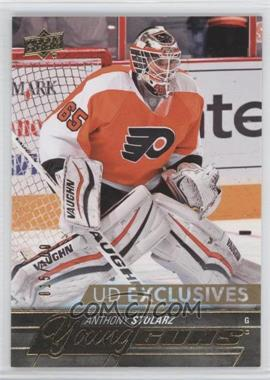 2015-16 Upper Deck - [Base] - UD Exclusives #488 - Young Guns - Anthony Stolarz /100