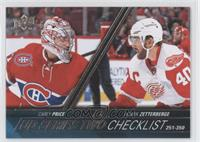 Checklist - Carey Price, Henrik Zetterberg