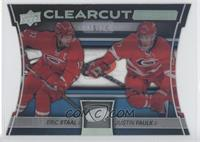 Eric Staal, Justin Faulk #/25