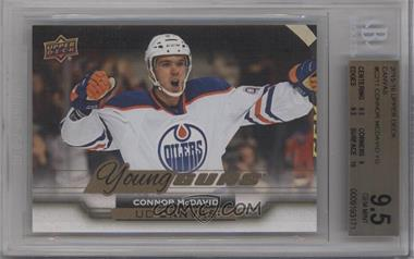 2015-16 Upper Deck - UD Canvas #C211 - Young Guns - Connor McDavid [BGS 9.5]