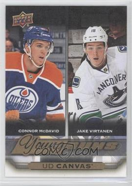 2015-16 Upper Deck - UD Canvas #C240 - Young Guns Checklist - Connor McDavid, Jake Virtanen