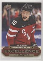 Program of Excellence - Max Domi