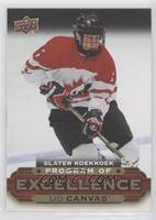 Program of Excellence - Slater Koekkoek