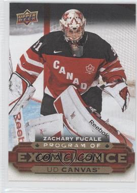 2015-16 Upper Deck - UD Canvas #C266 - Program of Excellence - Zachary Fucale