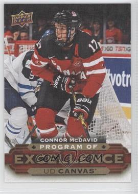 2015-16 Upper Deck - UD Canvas #C270 - Program of Excellence - Connor McDavid