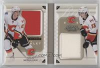 Sean Monahan, Johnny Gaudreau #/99