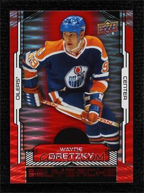 2015-16 Upper Deck Buybacks - [Base] - Patterned Red #92 - Wayne Gretzky /5