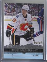 Young Guns - Johnny Gaudreau (2014-15 Upper Deck) /25