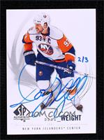 Doug Weight (2009-10 SP Authentic) #/3