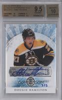 Dougie Hamilton (2012-13 Artifacts Rookie Redemption) /5 [BGS 9.5]