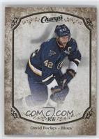 Short Prints - David Backes