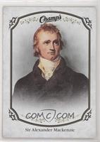 High Series Short Prints - Sir Alexander MacKenzie [Noted]