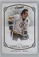 High Series Short Prints - Phil Esposito