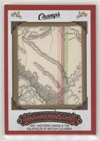 1907 Western Canada and Gold Fields Map