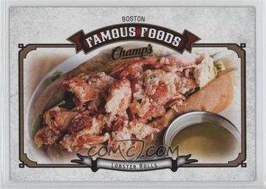 2015-16 Upper Deck Champs - Famous Foods #FF-7 - Lobster Rolls - Boston