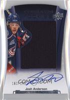 Rookie Autographed Jerseys - Josh Anderson /199