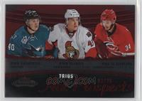 Hot Prospects Trios - Ryan Carpenter, Ryan Dzingel, Phil Di Giuseppe /25