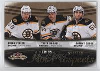 Hot Prospects Trios - Brian Ferlin, Tyler Randell, Tommy Cross #/599