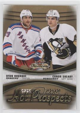 2015-16 Upper Deck Fleer Showcase - [Base] #118 - Hot Prospects Duos - Ryan Bourque, Conor Sheary /399