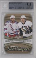 Hot Prospects Duos - Ryan Bourque, Conor Sheary /399 [BGS 8.5]
