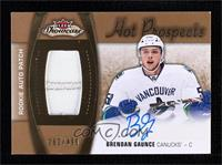 Hot Prospects Auto Patch - Brendan Gaunce [Noted] #/499