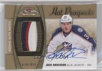 Hot Prospects Auto Patch - Josh Anderson /499