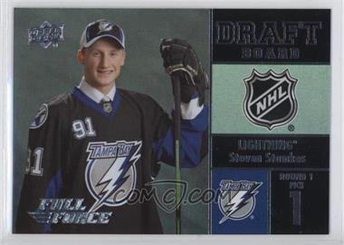 2015-16 Upper Deck Full Force - Draft Board #DB-SS - Steven Stamkos