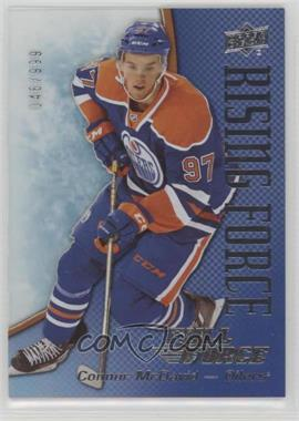 2015-16 Upper Deck Full Force - Rising Force #RF-CM - Connor McDavid /999 [Noted]