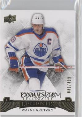 2015-16 Upper Deck Ice - Exquisite #38 - Legends - Wayne Gretzky /499