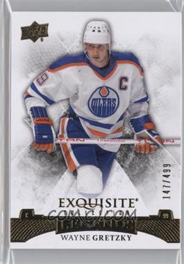 2015-16 Upper Deck Ice - Exquisite #38 - Legends - Wayne Gretzky /499