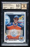 Connor McDavid (Autographed) [BGS 9.5 GEM MINT]