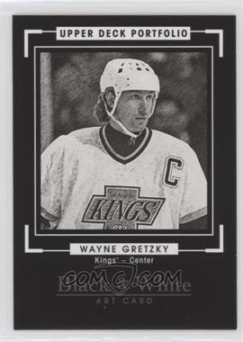 2015-16 Upper Deck Portfolio - [Base] #289 - Black & White Art - Wayne Gretzky